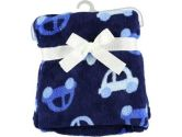 "Baby Starters ""Drive"" Cuddly Blanket - navy, one size (Baby Starters: 022253252708)"