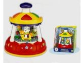 Megcos 1189 Plastic Musical Carousel (Megcos: 098266011892)