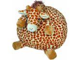 Cloud B Large Gentle Giraffe Pouf Huggable Friend, Orange/Off White, 1-Pack (Cloud b: 059366770157)