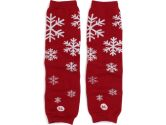 Babylegs Baby-Girls Infant Snow Queen Leg Warmer, Red/Silver, One Size (BabyLegs: 845520233442)