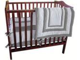 Double Hotel Porta Crib Bedding - Color: Grey (Baby Doll: 009243118442)