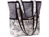 Hoohobbers Etoile Black Diaper Tote Bag, Lime (Hoohobbers: 033586019715)