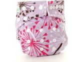 Bumkins Stuff It Cloth Diaper, Purple Dandelion (Bumkins: 014292989752)