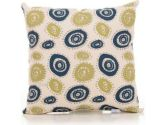 Uptown Traffic Circles Pillow (Sweet Potato: 763872118166)