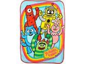 """Yo Gabba Gabba """"Friends Rock!"""" Ultra Soft Blanket - Colors As Shown, One Size (Yo Gabba Gabba: 092317099341)"""