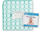 SwaddleDesigns Dr Karp White Noise CD and Ultimate Receiving Blanket, Mod Circles, 1 Pack (SwaddleDesigns: 810284020560)