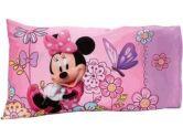 Disney Minnie Mouse Boutique Bow-Tique 2 Pc Toddler Bed Sheet & Pillowcase Set Flower Garden (Disney: 085214075563)