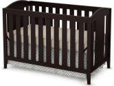 South Shore Furniture South Shore Crib and Toddler Bed, Espresso, 1-Pack (South Shore Furniture: 066311050028)