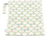 Bumkins Waterproof Zippered Wet Bag, Pink/Green (Bumkins: 014292989370)