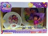 Zak Dora the Explorer 4 Piece Mealtime Set (Zak Designs: 707226594152)