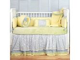 SwaddleDesigns 6-Piece zzZipMe Sack Crib Bedding Set with Crib Skirt and Cozy Blanket for Parents, 1 Pack (SwaddleDesigns: 810284022304)