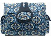Kalencom Elite Tote Style Diaper Bag - Garden Charm (Indigo) (Kalencom: 088161961354)