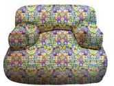 Harmony Kids Cuddle Bean Bag Chair - Blue Floral (Unknown: 658129350119)