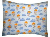 SheetWorld Twin Pillow Case - Blue Parachuting Mouse - Made In USA (sheetworld: 610696494917)