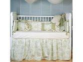 Sand Gingham Portable Crib Sheet (Baby Doll: 009243063469)