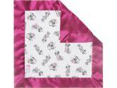 SwaddleDesigns Classic Disney Baby Lovie Blanket, Pastel/Gray Minnie (SwaddleDesigns: 810284016051)