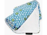 Ah Goo Baby Stroller Blanket, Bubbles in Water, White/Blue, 1-Pack (Ah Goo Baby: 852468004379)
