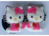 Model # 3 Hello Kitty Shoe Charm (variety of 16 models) - Jibbitz Croc Style (Generic: 610395609629)
