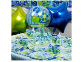 First Birthday Turtle Ultimate Box Serves 8 Guests (Fun World Costumes: 799422915527)