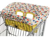 Skip Hop Skip Hop Take Cover Shopping Cart/High Chair Cover, Double Dots, 1-Pack (Skip Hop: 879674010819)