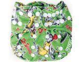 Bumkins Cloth Diaper Cover, Green Eggs (Bumkins: 014292990215)