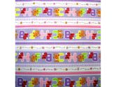 SheetWorld Fitted Portable / Mini Crib Sheet - Elmo & Zoe ABC - Made In USA (sheetworld: 818101010473)