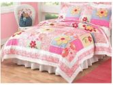 Olivia Twin Quilt with Pillow Sham (My World: 601000136579)