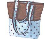 Hoohobbers Dots Diaper Tote Bag , Orange (Hoohobbers: 729440541286)