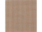 Chocolate Gingham Moses Basket Sheet - Size: 13 x 27 (Baby Doll: 009243087076)