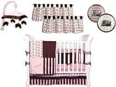 Bubblegum 9 Piece Crib Bedding Set by Trend Lab (Trend Lab: 846216031380)