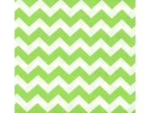 SheetWorld Crib / Toddler Sheet - Lime Chevron Zigzag - 28 inches x 52 inches (71.1 cm x 132.1 cm) - Made In USA (sheetworld: 030915159166)