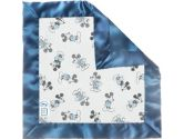 SwaddleDesigns Classic Disney Baby Lovie Blanket, Pastel/Gray Mickey (SwaddleDesigns: 810284016044)