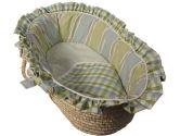 Lucillia Cradle Bedding - Color: Ecru Size: 18 x 36 (Baby Doll: 009243088479)