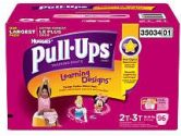 Pull-Ups Potty Training Pants with Learning Designs for Girls 2T-3T - 96CT (Unknown: 036000350340)