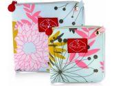 2 Red Hens Studio Snack Bags Set, Large/Small Pink Lemonade, 2-Pack (2 Red Hens Studio: 819435010092)