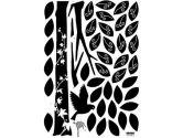 Wall Point Sticker: KRHS-VS-58605 - Black Enchanted Wishing Tree (Hyundae Sheet: 887736000500)