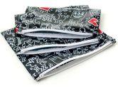 Bumkins Waterproof Zippered Reusable Everyday Bag - 3 Pack (Graffiti) (Bumkins: 014292988595)
