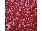 SheetWorld Fitted Portable / Mini Crib Sheet - Red Fun Dots - Made In USA (sheetworld: 030915159623)