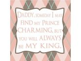 Rosenberry Rooms Daddy Someday I May Find My Prince Charming Canvas Reproduction (Rosenberry Rooms: 690753020945)