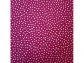 SheetWorld Fitted Pack N Play Sheet - Hot Pink Fun Dots - Made In USA - 29.5 inches x 42 inches (74.9 cm x 106.7 cm) (sheetworld: 817620012395)