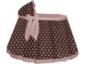 Cocoa Pink Dot Liner/Skirt and Hood size: 16inch x 32inch (Baby Doll: 009243121336)