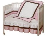 Sweet Classic Porta Crib Bedding color Pink (Baby Doll: 009243122371)