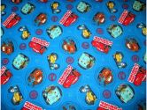 SheetWorld Fitted Pack N Play (Graco) Sheet - CARS - Made In USA - 27 inches x 39 inches (68.6 cm x 99.1 cm) (sheetworld: 611023608199)
