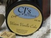 CJ's BUTTer Tub o' BUTTer - Blueberry Crumble (CJ's All Natural: 817458011287)