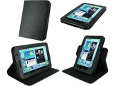 rooCASE Dual-View Multi Angle (Black) Folio Case Cover for Samsung GALAXY Tab 7.0 PLUS Tablet / Samsung GALAXY Tab 2 7.0 (rooCASE: 894585909694)