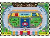 Fun Time Speedway Rug - 3.2 x 4.8 ft. (Funtime: 841848016606)