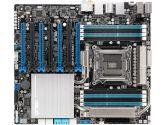 ASUS P9X79-E WS LGA2011 CEB Quad Channel 7XPCIE 2XSATA 6GB/S 6XSATA 3GB/S 4WAY SLI Motherboard (ASUS: P9X79-E WS)