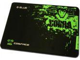 E-BLUE Cobra Mouse Pad 280*225MM Cobra Design Gaming Mouse Pad Black/Green (E-Blue: EMP005-S)