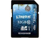 Kingston UHS-I Elite Class 10 32GB SDHC/SDXC Card (Kingston: SD10G3/32GB)