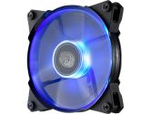 Coolermaster Jetflo 120 120mm 800-2000RPM 95CFM 2.72MMH2O 19-28DBA Pom Bearing Blue LED Fan (COOLERMASTER: R4-JFDP-20PB-R1)